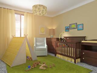 Diseño 3D Dormitorios infantiles de estilo clásico de Glancing EYE - Asesoramiento y decoración en diseños 3D Clásico