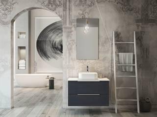 Sala da bagno interamente arredata con i complementi Arteba:  in stile  di Arteba DesignArtigiano per la sala da bagno