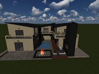 Katlego home by Avitu
