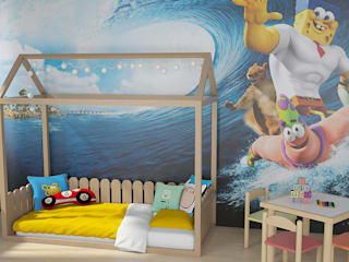 de estilo  por Tırtıl Genç ve Çocuk Odası
