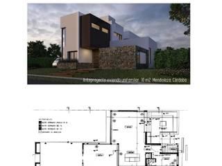 Proyecto Vivienda Unifamiliar: Casas de estilo minimalista por Sitio Arquitectura
