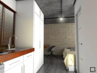 Departamentos Dormitorios modernos de Osuna Arquitecto Moderno