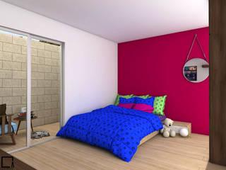 Dormitorios de estilo  de Osuna Arquitecto, Moderno