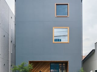 Wooden houses by .8 / TENHACHI, Modern