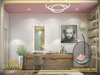 غرف بنات من Bazzar Design