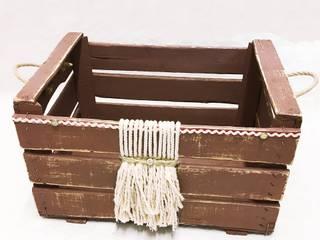 Caja antigua de madera Boho Chic |:  de estilo colonial de REinventa12, Colonial