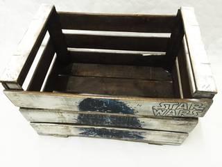 Caja antigua de madera Star Wars |:  de estilo industrial de REinventa12, Industrial