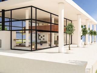 Galería: Casas unifamiliares de estilo  por DUSINSKY S.A.