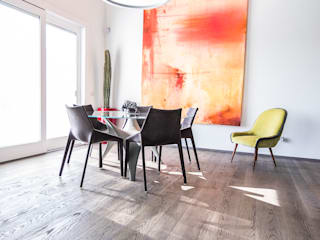 Magri Parquet Dining room Grey