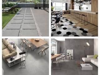 Formatos cerámicos, cuando la imaginación es el límite ITT Ceramic Espacios comerciales de estilo mediterráneo Cerámico