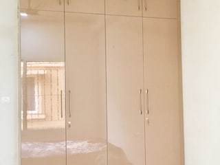 Home design for 3BHK flat in Sobha City Bangalore Modern style bedroom by Vinra Interiors Modern