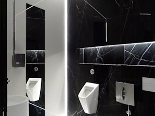 Cerámica en blanco y negro, una combinación ganadora : Bares y discotecas de estilo  por ITT Ceramic