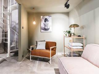 Interieur Winkel Fort-M Den Haag Eclectische winkelruimten van Studio Kustlijn Architecten Eclectisch