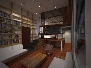 40 Piedi - Mini Appartamento:  in stile  di officinaleonardo