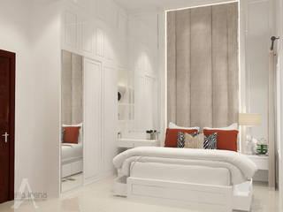 Klasik Modern: Kamar Tidur oleh AIRE INTERIOR , Klasik