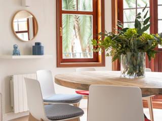 Sube Susaeta Interiorismo Scandinavian style dining room White