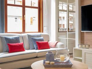 Living room by Sube Susaeta Interiorismo, Scandinavian