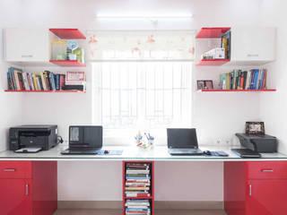 sunil kumar Modern study/office by mayu interiors Modern