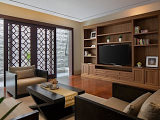 Living Room by ARF interior Classic Wood Wood effect