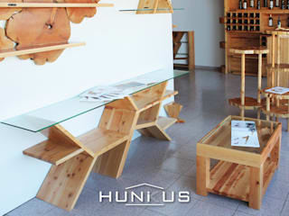Hunikus Living roomAccessories & decoration Solid Wood Wood effect