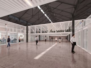 Salas de entretenimiento de estilo moderno de Mauricio Morra Arquitectos Moderno