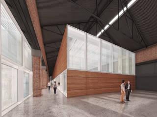Sala multimediale moderna di Mauricio Morra Arquitectos Moderno