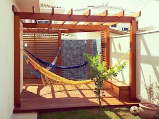 Country style garden by Vanessa Vosgrau Arquitetura Country