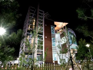 Modern houses by 건축사사무소 CSU Modern