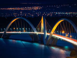Ponte JK: Escadas  por Rafael Serathiuk