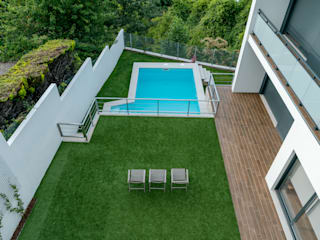 Hugo Guimarães Arquitetura Paisagista Mediterranean style garden