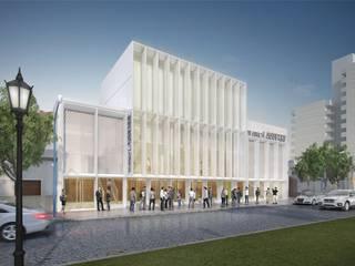Concurso REMODELACIÓN TEATRO LASSERRE (2° premio) Centros de convenciones de estilo moderno de Mauricio Morra Arquitectos Moderno