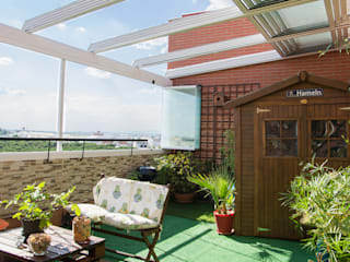 Moderner Balkon, Veranda & Terrasse von Fraimar Aluminios S.L. Modern