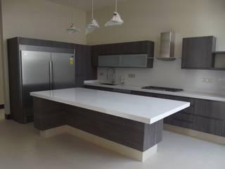 COCINA IKOO ORIGINALE CUCINE E ARMADI Cocinas equipadas Compuestos de madera y plástico Gris