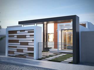 by BENPE ARQUITECTOS Minimalist Concrete