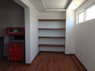 Dormitorios de estilo moderno de NAH ARQUITECTOS Moderno