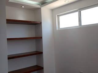 Pasillos, vestíbulos y escaleras de estilo moderno de NAH ARQUITECTOS Moderno
