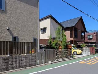 Wiejskie domy od シーズ・アーキスタディオ建築設計室 Wiejski