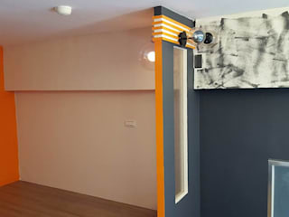 Chambre moderne par 藝舍室內裝修設計工程有限公司 Moderne