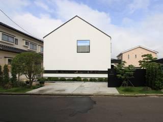外観: 石川淳建築設計事務所が手掛けた木造住宅です。