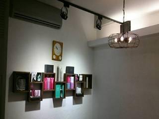 商業髮廊現代風。桃園 根據 藝舍室內裝修設計工程有限公司 現代風