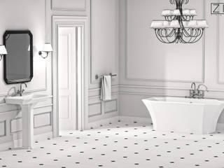 Salle de bain rustique par ZICCO GmbH - Waschbecken und Badewannen in Blankenfelde-Mahlow Rustique