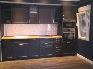 Reformadisimo ห้องครัวตู้เก็บของและชั้นวางของ Black