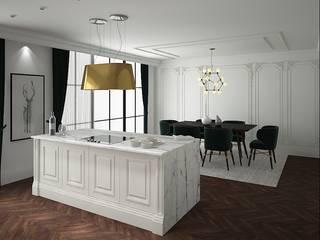 Mutfak Tasarım Modern Mutfak FA - Fehmi Akpınar İç Mimarlık Modern