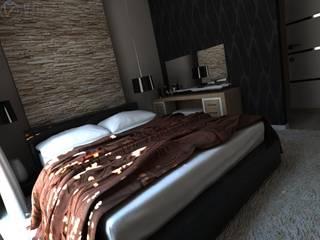 Yatak odası tasarım Modern Yatak Odası FA - Fehmi Akpınar İç Mimarlık Modern