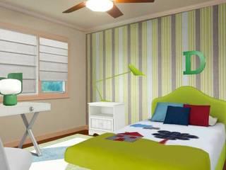 Apartamento bem localizado: Quartos de criança  por Filomena Sobreiro - Decorações