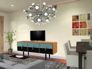 Apartamento bem localizado: Salas de estar modernas por Filomena Sobreiro - Decorações