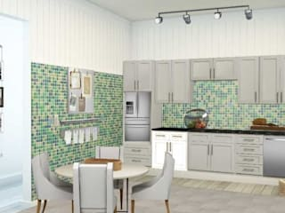 Apartamento bem localizado: Cozinhas modernas por Filomena Sobreiro - Decorações