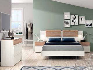 Quarto: o espaço idílico. por All House Moderno