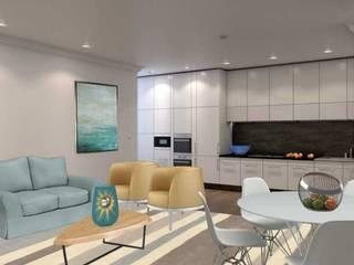 Apartamento Remodelado: Cozinhas modernas por Filomena Sobreiro - Decorações
