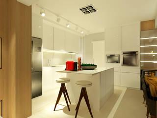 Apartamento Cozinhas modernas por MQ Design Interiores Moderno